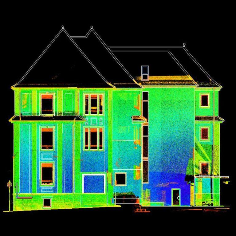 Erstellung von Fassadenansichten